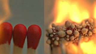 Burning Matches in Slow Motion