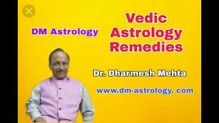 Vedic Astrology Remedies by Dr Dharmesh M Mehta