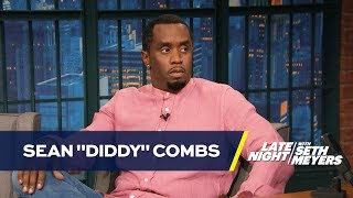 "Sean ""Diddy"" Combs Cried the First Night of Bad Boy"