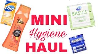 MINI HYGIENE HAUL!!!|| ASHLEY CHAMBERS 105