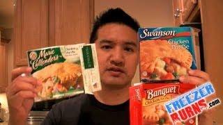 Which Frozen Chicken Pot Pie is Best? Swanson's vs Banquet vs Marie Callender's