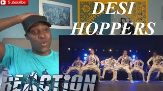 Desi Hoppers 1st Place Finals | FRONTROW World of Dance Finals 2015 #WODFINALS15 - REACTION!