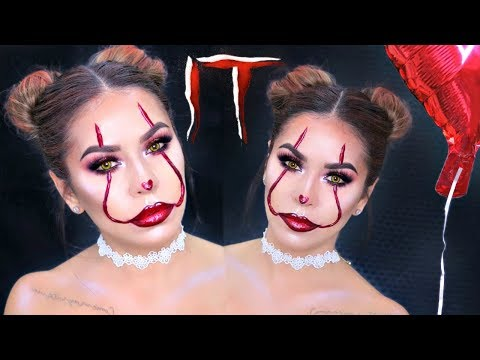 Xxx Mp4 Easy Glam IT Pennywise Makeup Tutorial Sexy Halloween Makeup 3gp Sex