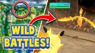 WILD BATTLES RETURN + NEW SECRETS! - Pokémon Let