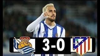 Real Sociedad Vs Atlético Madrid 3 - 0 La Liga 19/04/2018