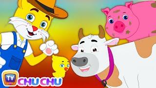 Old MacDonald Had a Farm (SINGLE) | Animal Sounds Nursery Rhymes by Cutians | ChuChu TV Kids Songs