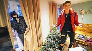 BURGLARY PRANK ON MY SON MORGZ!! *He Freaked Out*