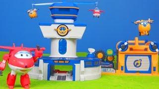 Super Wings Unboxing deutsch: Jett, Donnie & mehr Spielzeug für Kinder | Kinderkanal