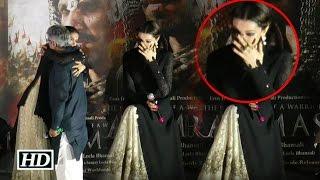 Deepika Padukone CRIES in Public At Bajirao Mastani Trailer Launch