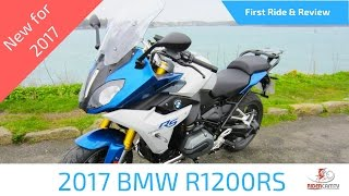 2017 BMW R1200 RS First Ride and Review - A great versatile bike!