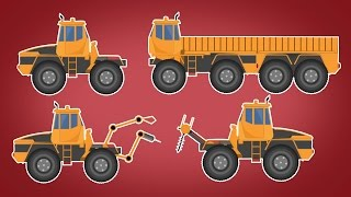 Transformer | Loading Truck | Welding Truck | Driller Machine | Vehicles for kids