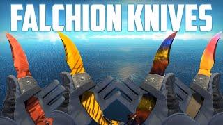 CS:GO - Falchion Knives - All Skins Showcase | Все Скины Falchion Knives