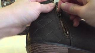 How to fix a broken zipper on a boot
