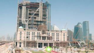 Al Habtoor City Construction Progress Time-lapse (April 2012 – July 2016)
