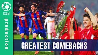 Best COMEBACKS Ever In Football History - The Movie