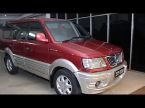 Dijual Mitsubishi Kuda Grandia 2002 Merah
