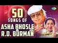 Top 50 Songs Of R.D. Burman & Asha , आशा बर्मन के 50 हिट गाने , HD Songs , One Stop Jukebox