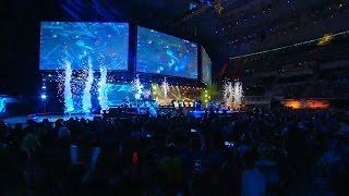 Grand Opening Ceremony of All-Stars 2016 in Barcelona! #Allstar2016