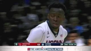 MBB Highlights - Houston 75, UConn 68