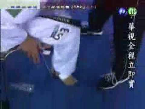 2004年雅典奧運冠軍 朱木炎最後四場� 事 男子58KG以下