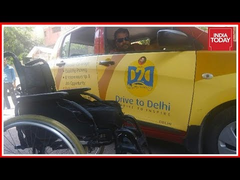 Xxx Mp4 Paralysed Disability Rights Activist Drives From Kerala To Delhi To Meet PM Modi Good News Today 3gp Sex