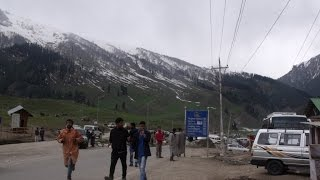 Full Journey To Thajiwas Glacier From Sonamarg, Kashmir, India Tourism HD Video