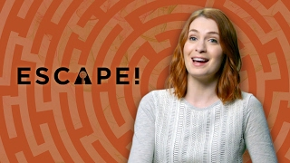 Temple Escape Room ft. Felicia Day! (Escape! with Janet Varney)