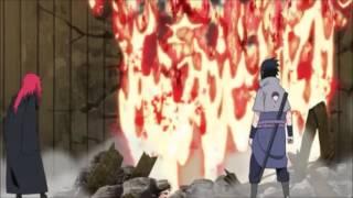 Sasuke vs 5 Kages
