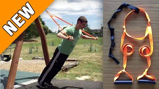 NEW: $10 DIY Suspension Trainer - Featuring TRX 'Locking Loop' For Added Safety...