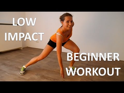 Low Impact Cardio Workout – 20 Minute Beginner Workout Routine