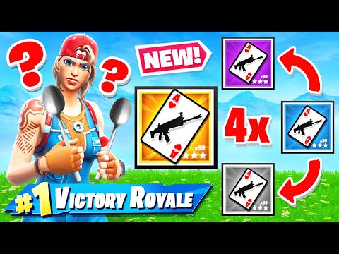 SPOONS Card Game NEW Game Mode in Fortnite Battle Royale