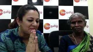 Interview with Zee Tamil Sa Re Ga Ma Pa Archana and Ramaniammal