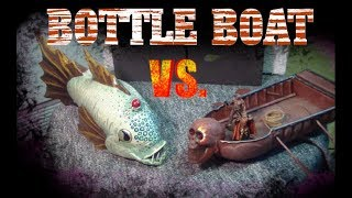 Make a Huge Long Boat out of a Plastic Bottle