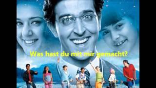 Idhar Chala Mein Udhar Chala-Koi Mil Gaya-Sternenkind auf Deutsch Übersetzt