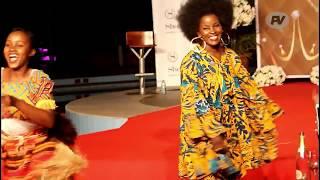 Nana Kagga Almost Runs Naked at Miss Uganda Talent Night