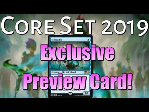 Xxx Mp4 Mtg Core Set 2019 Exclusive Preview Card Mistcaller 3gp Sex