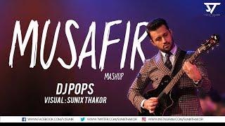 Atif Aslam | Musafir Mashup | Dj Pops | Visual : Sunix Thakor