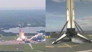 Falcon 9 Block 5 first launch & landing