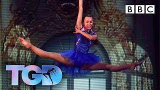 Fierce Ellie wows Matthew in chandeliers challenge - The Greatest Dancer | LIVE