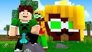 Minecraft ÉPICO 💚 : A CASA DA MALENA !! 🏡