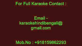 Zindagi Pyar Ka Geet Hai (Male Version) - Karaoke - Kishore Kumar - Soutan (1983)