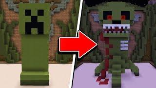Minecraft: SÓ POSSO FAZER CONSTRUÇÕES ASSUSTADORAS! 3 (BUILD BATTLE)
