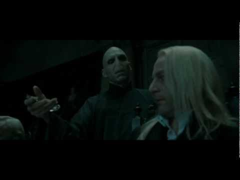 Harry Potter and the Deathly Hallows part 1 - the Death Eaters at Malfoy Manor part 2 (HD)