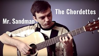 the chordettes  mr sandman guitar cover