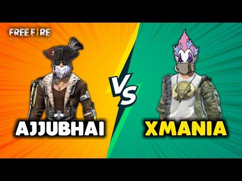 Ajjubhai94 vs XMania Best Clash Battle Who will Win Garena Free Fire