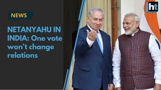 Israeli PM in India: One UN vote won
