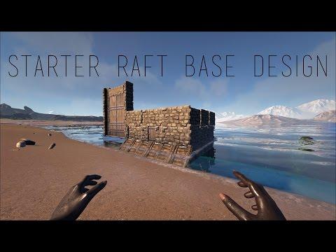 Starter PVP Raft Base Design ARK: Survival Evolved | Daikhlo