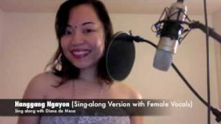 Hanggang Ngayon (Sing-Along with Female) - Diane de Mesa