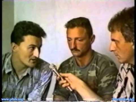 Serbian Terrorists taking Dutch soldiers as hostages Hotel Fontana Bratunac Bosnia July 1995