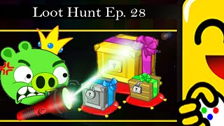 Bad Piggies - Loot Hunt Episode 28! GOLD LOOT CRATE! (Funny Commentary) #SuperflyGaming